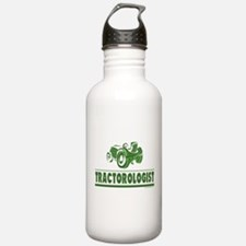 Green Tractor Water Bottle