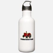 Funny Tractor Water Bottle