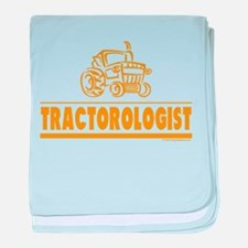 Funny Tractor baby blanket