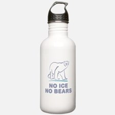 Polar Bears & Climate Change Water Bottle