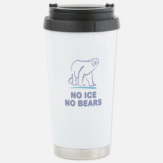Polar Bears & Climate Change Stainless Steel T