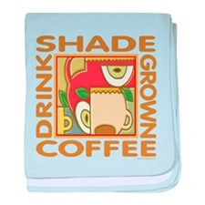 Shade Grown Coffee baby blanket