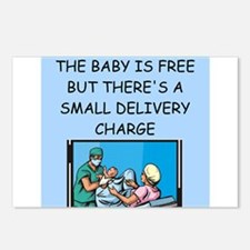 obstetricians Postcards (Package of 8)