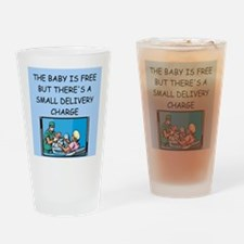 obstetricians Drinking Glass