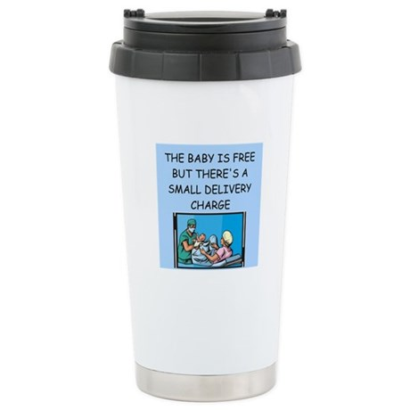 obstetricians Stainless Steel Travel Mug