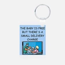 obstetricians Keychains