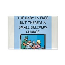 obstetricians Rectangle Magnet (10 pack)