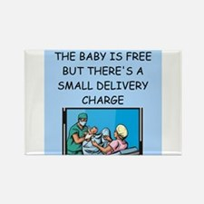 obstetricians Rectangle Magnet