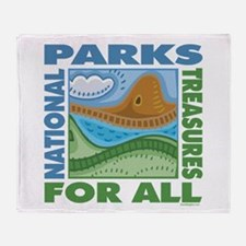 National Parks Throw Blanket