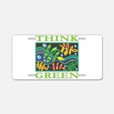 Environmental Aluminum License Plate