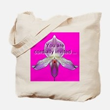 You Are Cordially Invited Tote Bag
