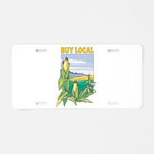 Buy Local Aluminum License Plate