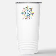 Peace Symbol Star Travel Mug
