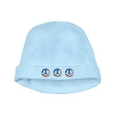 Peace for America baby hat