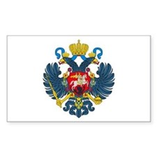 Russian Empire Rectangle Decal