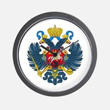 Russian Empire Wall Clock