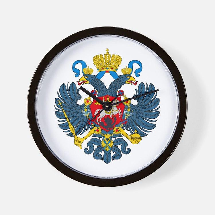 Russian Empire Wall Clock
