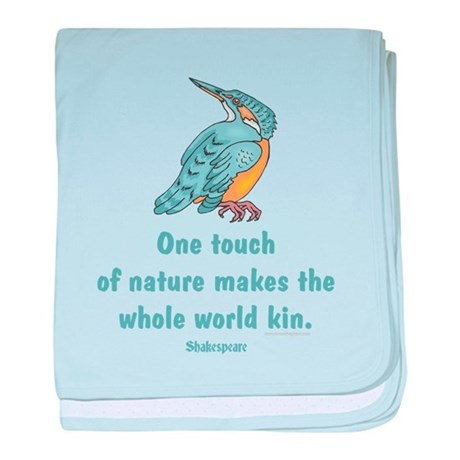 Shakespear Nature & Peace Quo baby blanket