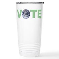 Vote Green Travel Coffee Mug