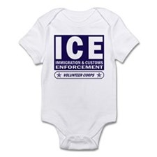 ICE - Immigration & Customs Infant Creeper