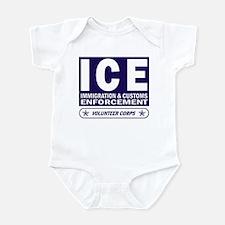 ICE - Immigration & Customs Infant Creeper