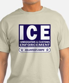 ICE - Immigration & Customs Ash Grey T-Shirt