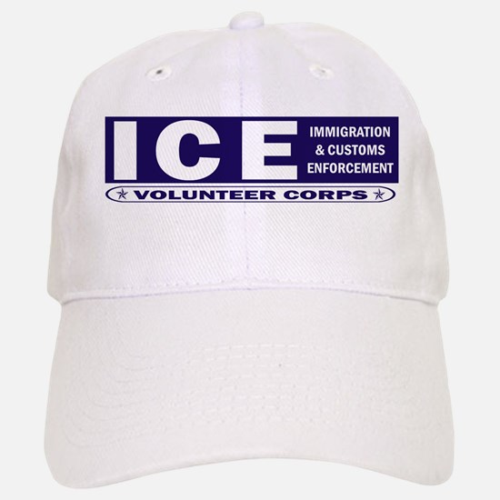 ICE - Immigration & Customs Baseball Baseball Cap