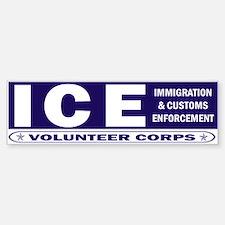 ICE - Immigration & Customs Bumper Bumper Bumper Sticker