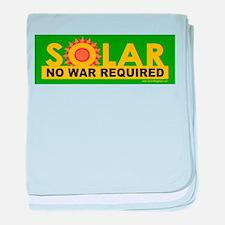 Solar ... Anti-War baby blanket