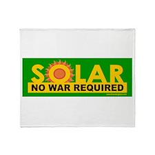 Solar ... Anti-War Throw Blanket