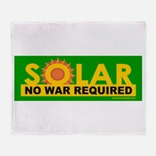 Solar ... Anti-War Throw Blanket