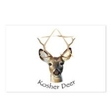 Kosher Deer Postcards (Package of 8)