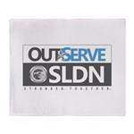 OutServe-SLDN Logo Products Throw Blanket