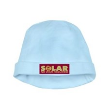 Solar - No War Required baby hat