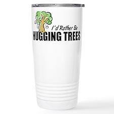 Hugging Trees Travel Coffee Mug