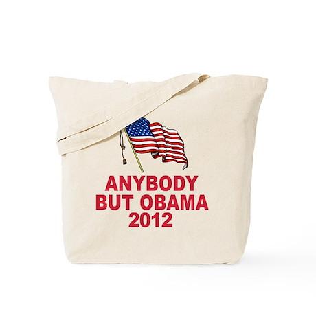Anti Obama 2012 Tote Bag