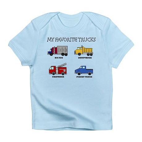 My Favorite Trucks Infant T-Shirt