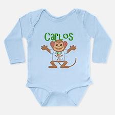 Little Monkey Carlos Long Sleeve Infant Bodysuit