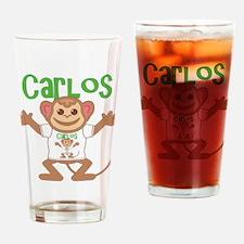 Little Monkey Carlos Drinking Glass