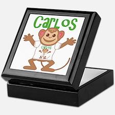 Little Monkey Carlos Keepsake Box