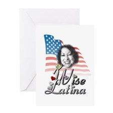 Wise Latina - Greeting Card