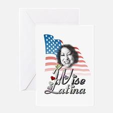 Wise Latina - Greeting Card