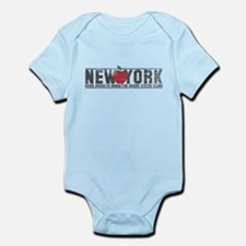 Big Apple NY Infant Bodysuit