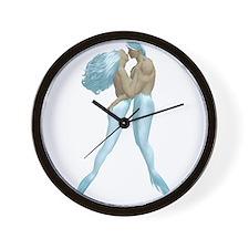 Merman & Mermaid Wall Clock