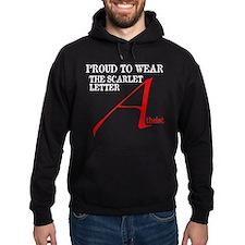 Scarlet Letter Atheist Hoodie