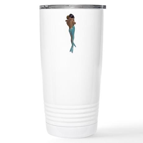 Merman & Mermaid Stainless Steel Travel Mug