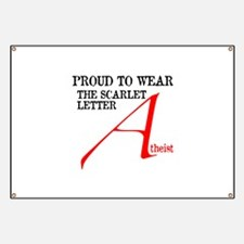 Scarlet Letter Atheist Banner