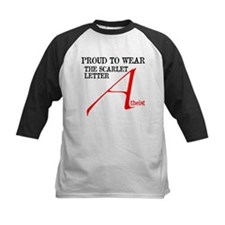 Scarlet Letter Atheist Tee