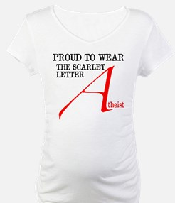 Scarlet Letter Atheist Shirt