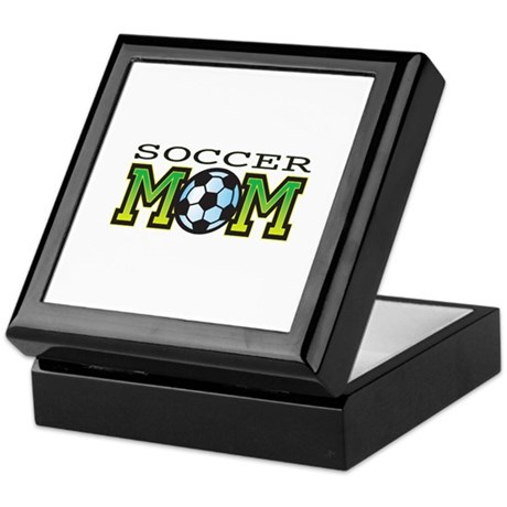 Soccer Mom Keepsake Box